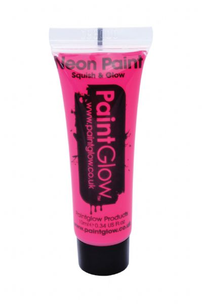 PaintGlow UV Face & Body Paint - Neon Pink